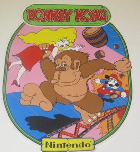 Donkey Kong Arcade Side Decal