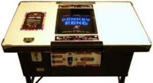 Donkey Kong Cocktail Cabinet