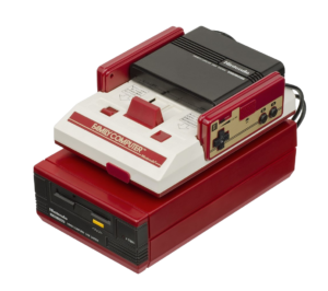 Famicom Disk System Console