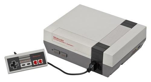 Nintendo Entertainment System Console