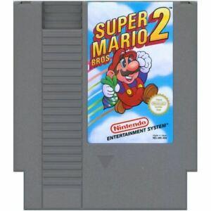 Super Mario Bros 2 Cartridge