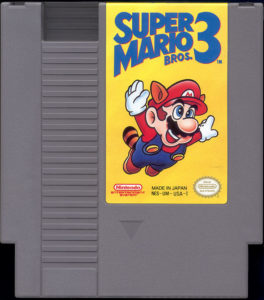 Super Mario Bros 3 Cartridge