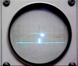 Tennis for Two Oscilloscope