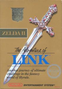 Zelda II - The adventure of Link Box