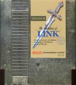Zelda II - The adventure of Link Cartridge