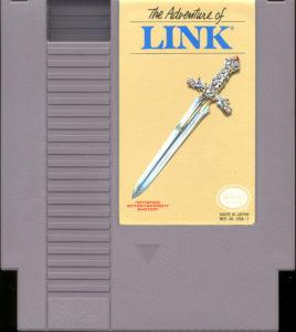 Zelda II - The adventure of Link Grey Cartridge