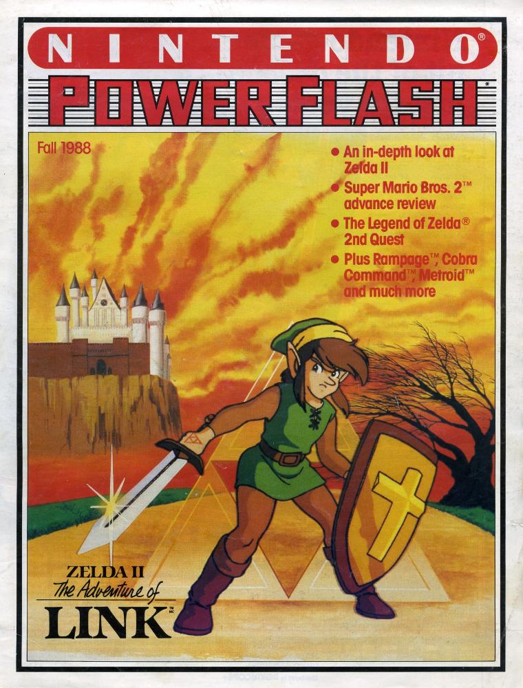 Zelda II - The adventure of Link PowerFlash