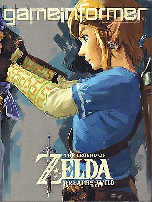 Breath of the Wild Game Informer