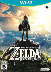 Breath of the Wild Wii U Box
