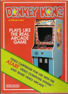 Donkey Kong Atari 2600 Box