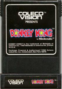 Donkey Kong ColecoVision Cartridge