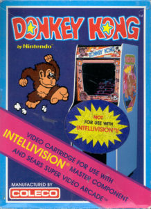 Donkey Kong Intellivision Box