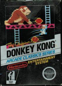 Donkey Kong NES Box