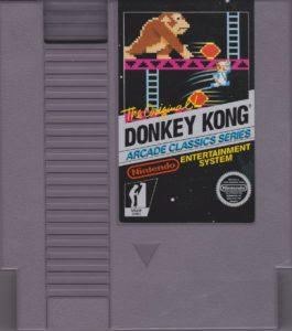 Donkey Kong NES Cartridge