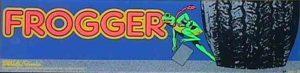 Frogger Arcade Marquee