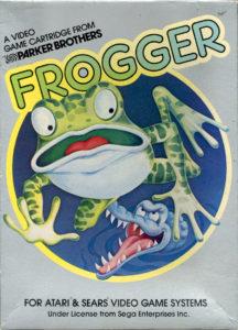 Frogger Atari 2600 Box