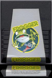 Frogger Atari 2600 Cartridge