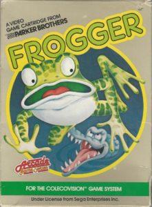 Frogger ColecoVision Box