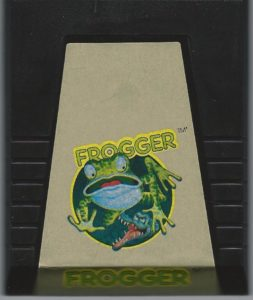 Frogger ColecoVision Cartridge