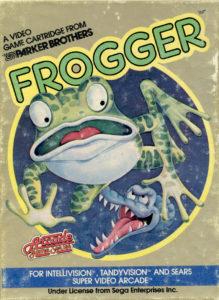 Frogger Intellivision Box
