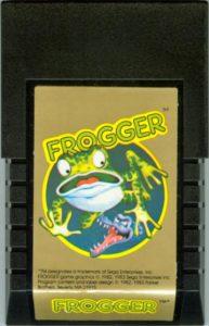 Frogger Intellivision Cartridge