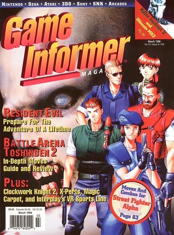 Game Informer March 1996
