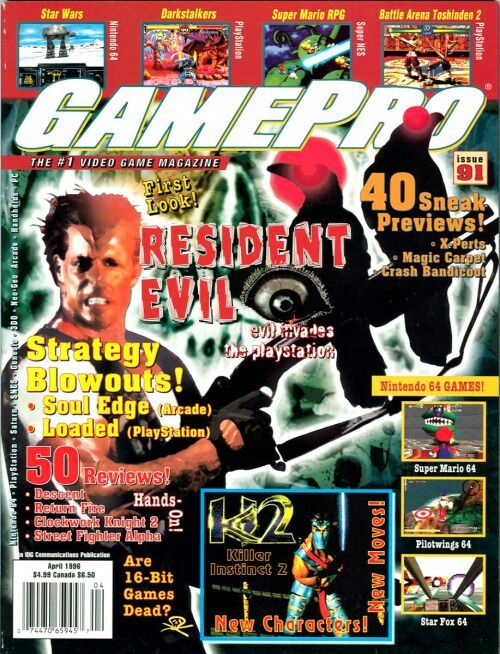 GamePro Issue 91