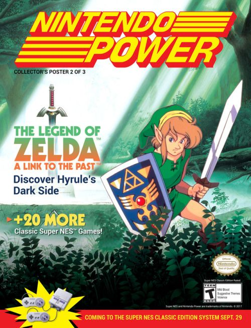 LTTP - Nintendo Power Poster