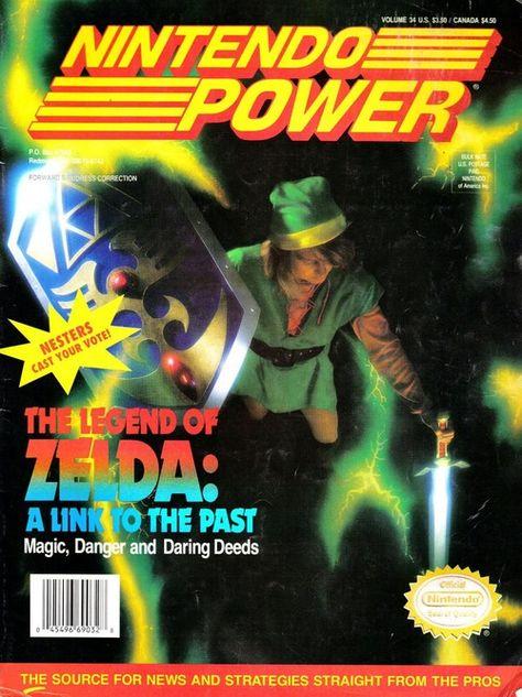 LTTP - Nintendo Power