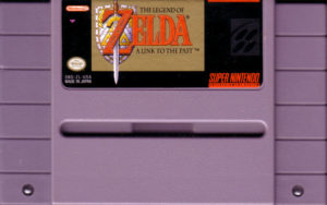 Legend of Zelda - A Link To The Past Cartridge