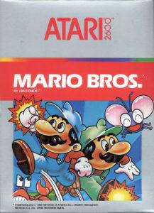 Mario Bros Atari 2600 Box