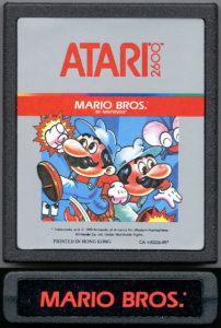 Mario Bros Atari 2600 Cartridge