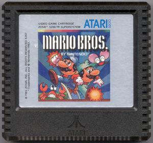 Mario Bros Atari 5200 Cartridge