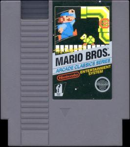 Mario Bros NES Cartridge