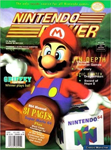 Nintendo Power Volume 85
