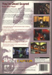 Resident Evil Box Back