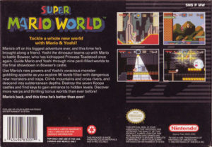 Super Mario World Box Back