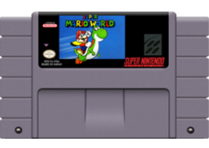 Super Mario World Cartridge