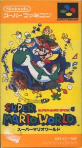 Super Mario World Super Famicom Box