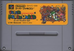 Super Mario World Super Famicom Cartridge