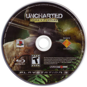 Uncharted Drake's Fortune Disc