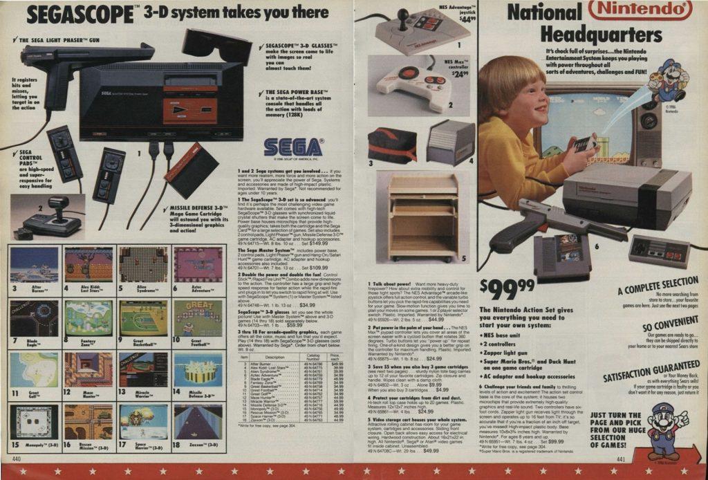 1988 Wish Book - Consoles