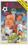 1st Division Manager ZX Spectrum Box