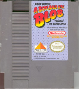 A Boy and His Blob Cartridge