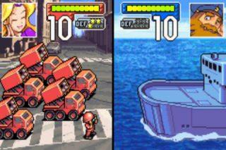 Advance Wars - Shore Battle
