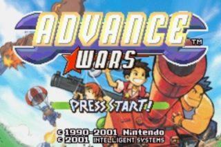 Advance Wars - Title Screen