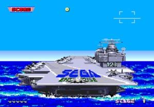 After Burner Aircraft Carrier 128
