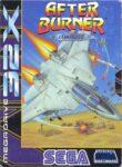 After Burner Mega Drive 32X Box