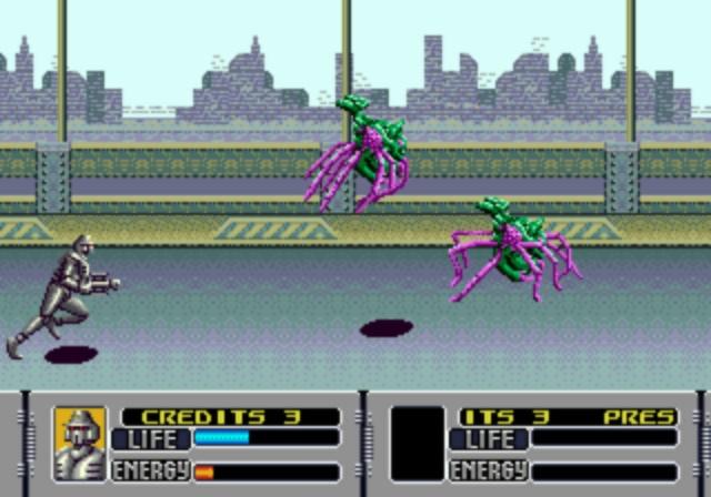 Alien Storm - City Battle