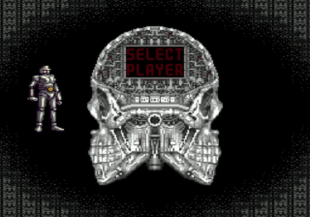 Alien Storm - Player Select